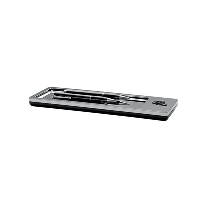 Picture of HAN holder for writing instruments i-Line, horizontal, grey chrome