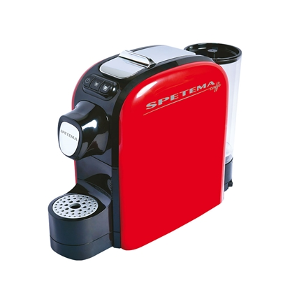 Picture of Spetema Coffee machine Grande, with capsules, red