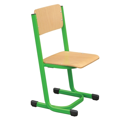 Picture of Students chair Тера, wooden, 34 x 63 cm