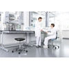 Picture of Bimos Laboratory ergonomic chair Labsit 9125, black and white