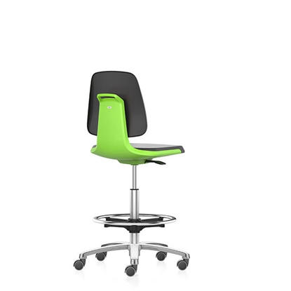 Picture of Bimos Laboratory ergonomic chair Labsit 9125, black and green