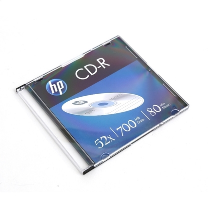 Picture of HP CD-R, 700 MB, 52x, in a thin box