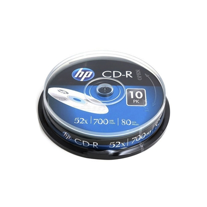 Picture of HP CD-R, 700 MB, 52x, 10 pcs in a mandrel