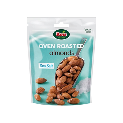 Picture of Rois Roasted almonds, with sea salt, 120 g