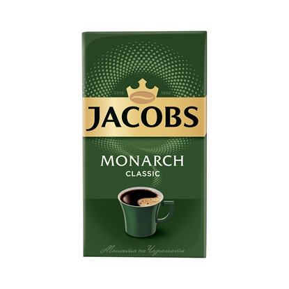 Снимка на Jacobs Monarch Мляно кафе Classic, 250 g