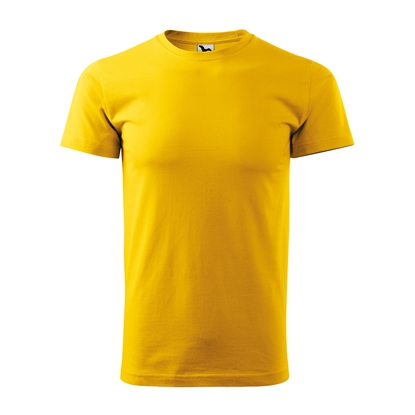 Picture of Malfini Mens T-shirt Basic 129, size L, yellow