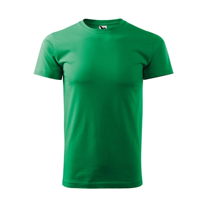 Picture of Malfini Mens T-shirt Basic 129, size L, green