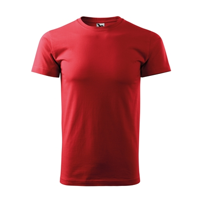 Picture of Malfini Mens T-shirt Basic 129, size L, red