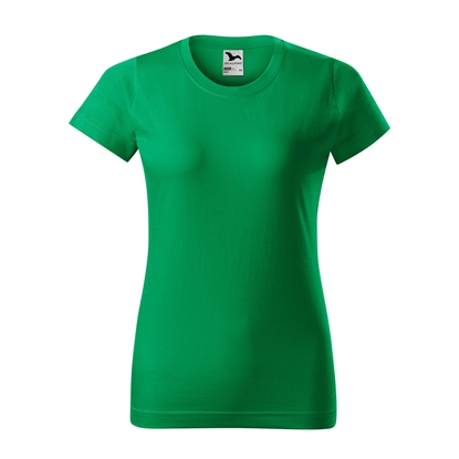 Picture of Malfini Womens T-shirt Basic 134, size L, green