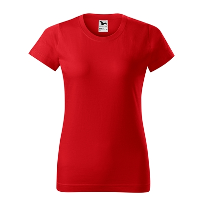 Picture of Malfini Womens T-shirt Basic 134, size L, red