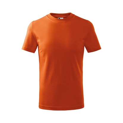 Picture of Malfini Kids T-shirt Basic 138, size 110 cm, age 4 years, orange