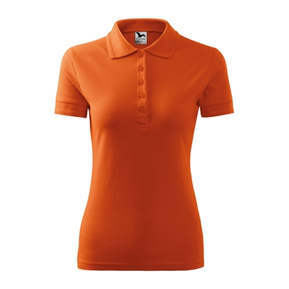 Picture of Malfini Womens T-shirt Pique Polo 210, size S, orange