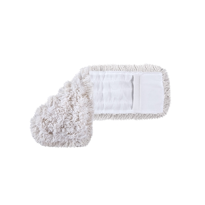 Picture of Hunts mop for dry and wet cleaning, cotton, 100 cm