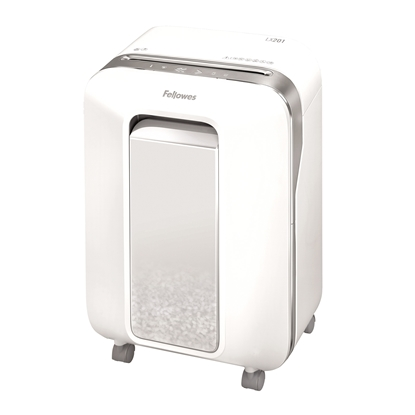 Picture of Fellowes Shredder for destroying documents Powershred LX201, Microcut, 22 L, white