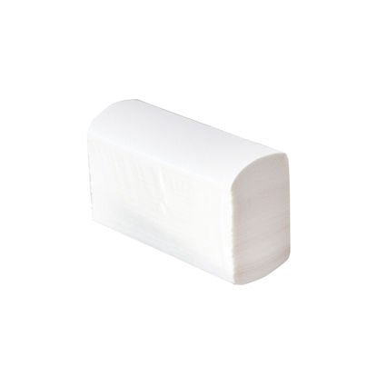 Picture of Wipes for hands, with V--shaped fold, cellulose, two-layered, 200 pieces, 21 x 25 cm, 20 pcs