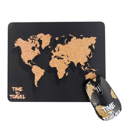Picture of TNB set mouse and pad World