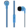 Picture of TNB headphones Be Color, with stoppers, with microphone, blue