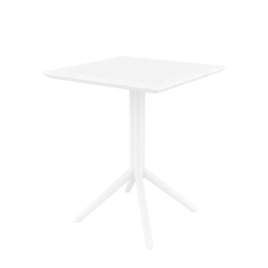 Picture of RFG table Folding, bendable, plastic, white