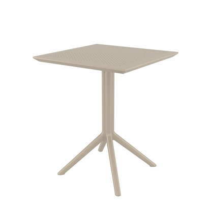 Picture of RFG table Folding, bendable, plastic, beigeа