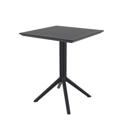 Picture of RFG table Folding, bendable, plastic, black