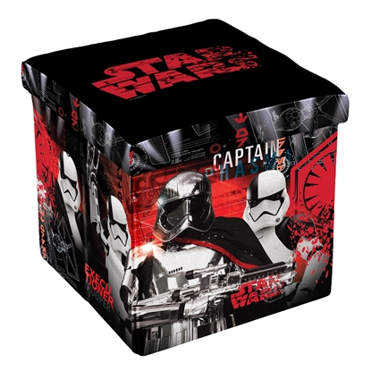 Picture of Disney Stool Stars Wars 8, 3 in 1, MDF and textile, up to 150 kg