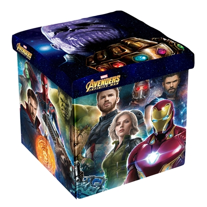 Picture of Disney Stool Avengers, 3 in 1, MDF and textile, up to 150 kg