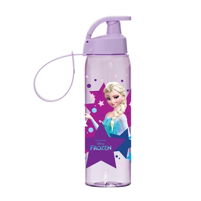 Picture of Disney Bottle Elsa, plastic, sports, with carrying handle, 500 ml