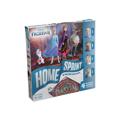 Снимка на Disney Настолна игра Frozen ''Home Sprint''