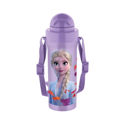 Picture of Disney Water bottle Frozen, with a strap, 300 ml