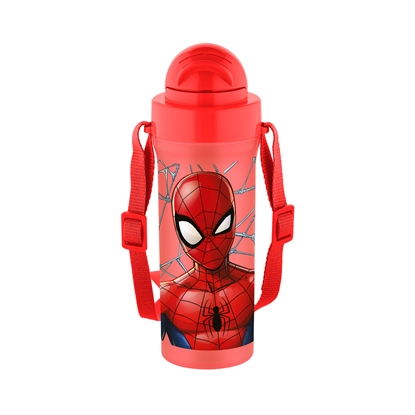 Picture of Disney Water bottle Spiderman, with a strap, CC, 300 ml
