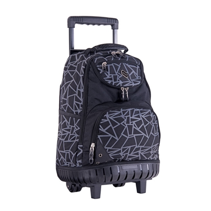 Picture of Pulse Backpack Wheels,triangle design, black