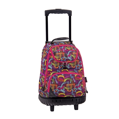 Picture of Pulse Backpack Wheels Letters, pink