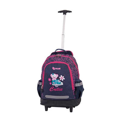 Picture of Pulse Backpack Mini Wheels Cutie, blue-pink