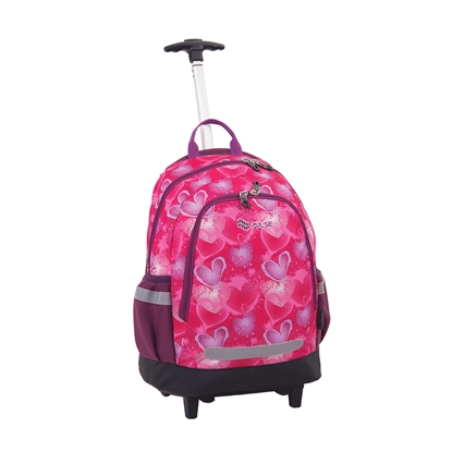 Picture of Pulse Backpack Mini Wheels, heart design, pink