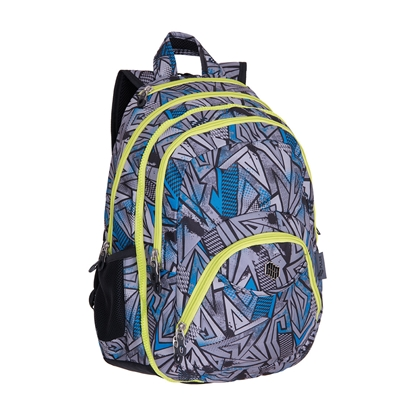 Picture of Pulse Backpack Teens Ice, 2 in a 1, grey