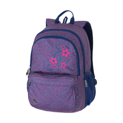 Picture of Pulse Backpack Spin Flower, blue-pink