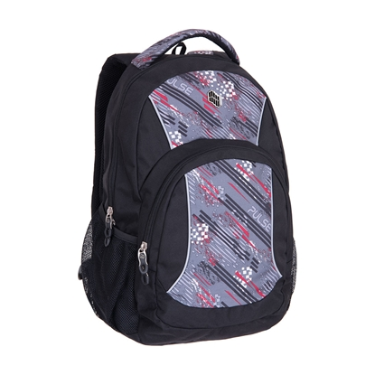 Picture of Pulse Backpack Fever, red-grey