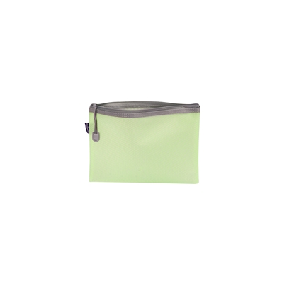 Picture of Office 1 Superstore Mesh zipper bag Bloom, A5, pastel green
