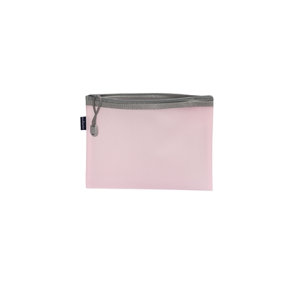 Picture of Office 1 Superstore Mesh zipper bag Bloom, A5, pastel pink