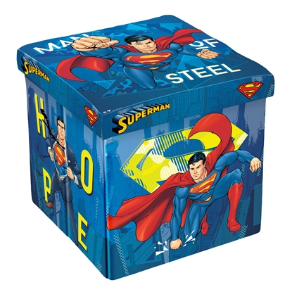Picture of Disney Stool Superman, 3 in 1, MDF and textile, up to 150 kg