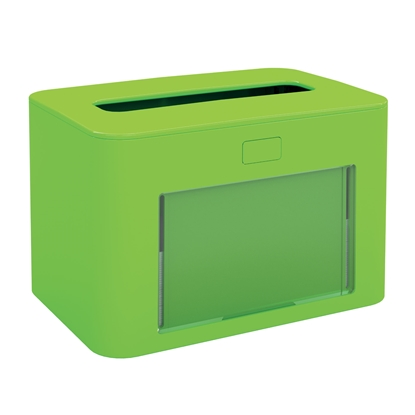 Picture of Papernet Napkin dispenser Premium, for a pack, lime