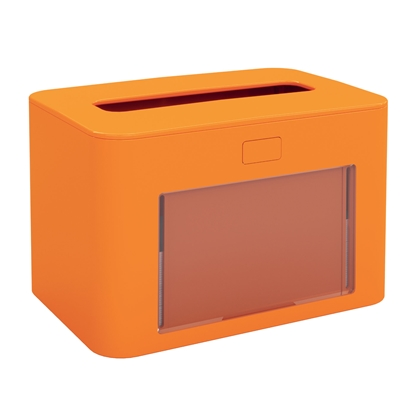 Picture of Papernet Napkin dispenser Premium, for a pack, orange