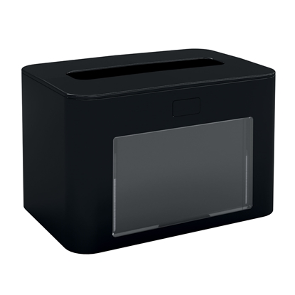 Picture of Papernet Napkin dispenser Premium, for a pack, black
