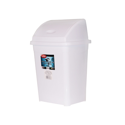 Picture of Planet Waste-bin with swinging cover, 9 L