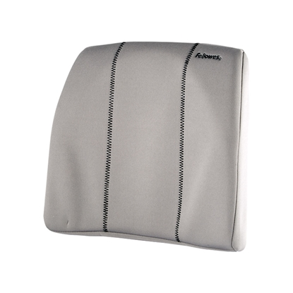 Picture of Fellowes Back support cushion Slim, grey
