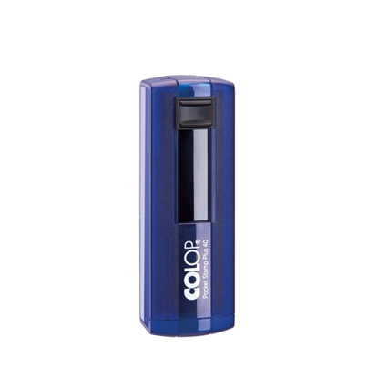 Picture of Colop stamp PSP 40, pocket, 58 х 22 mm, indigo-blue