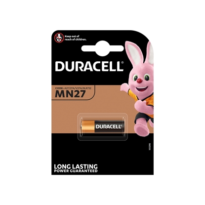 Picture of Duracell Alkaline battery MN27, 12 V