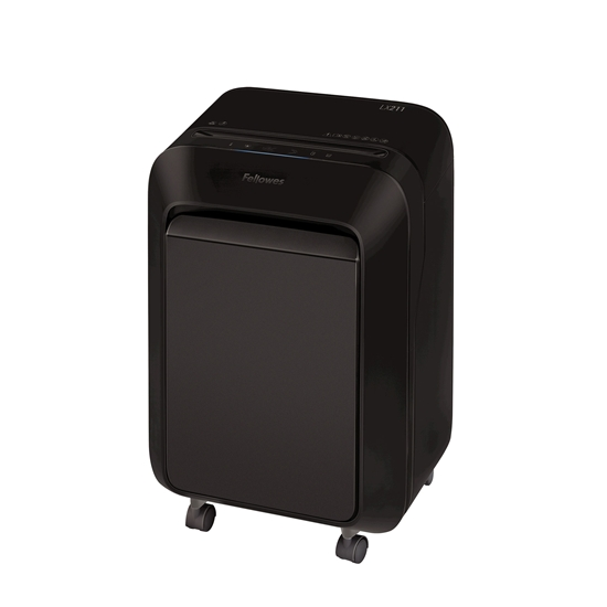 Picture of Fellowes Document shredder LX211, Micro-Cut, 23 L, black