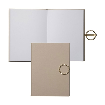 Picture of Nina Ricci Writing pad Boucle Nude, A6, 80 sheets, beige