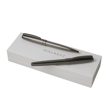 Picture of Nina Ricci Set ballpoint pen and roller pen Ramage Gun, red